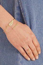 Jennifer Meyer Courage 18-karat gold bracelet