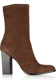 Gia stretch-suede boots
