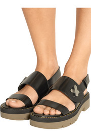 Davis leather slingback sandals