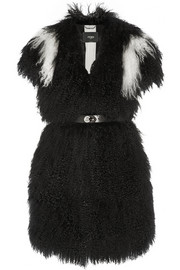 Fendi Two-tone shearling gilet
