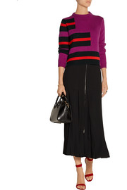 Fendi Striped cashmere sweater
