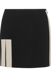 Fendi Crepe mini skirt