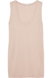 Brushed-cotton tank