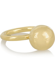 Cyclos 18-karat gold ring