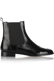 Chelsea Cats leather ankle boots
