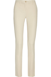 Veronica stretch-crepe straight-leg pants