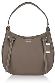 Rogers large textured-leather shoulder bag