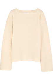 See by Chloé Waffle-knit wool sweater