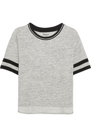 Avenue D cotton-blend jersey T-shirt