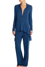 Touch Of Sheer modal-jersey pajama set