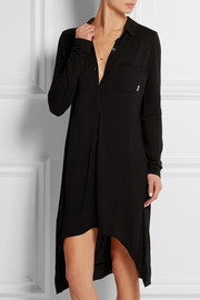 Touch of Sheer modal-jersey sleep shirt