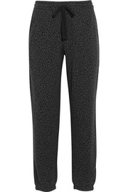 Brooklyn Lounger cotton-blend jacquard pants