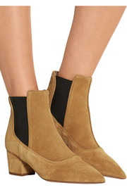 Tabitha Simmons Shadow suede ankle boots