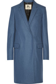 Burberry London Double-breasted wool coat