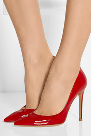 Patent-leather pumps