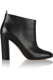 Gianvito Rossi Textured-leather ankle boots