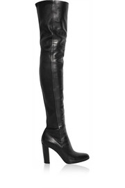 Gianvito Rossi Leather thigh boots
