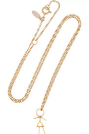 Finds + Wouters & Hendrix gold-plated necklace