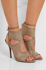 Sexy Thing cutout leather sandals
