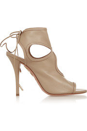 Aquazzura Sexy Thing cutout leather sandals