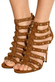 Very Wild studded suede sandals