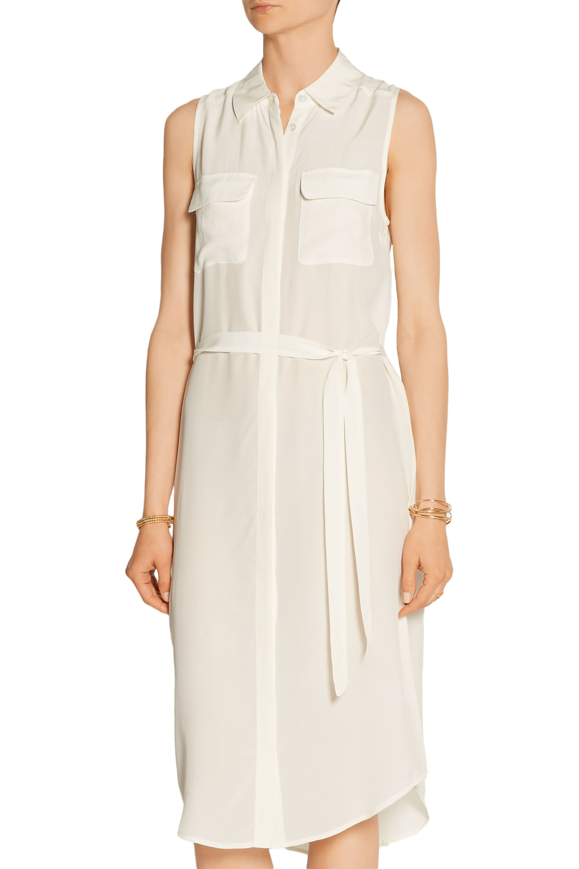 EQUIPMENT Teagan washed-silk shirt dress