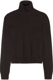 Atticus silk-blend turtleneck sweater