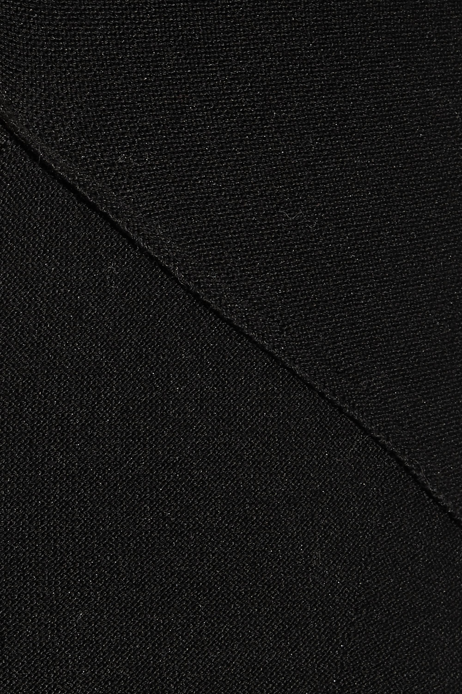 Alexander Wang Cutout stretch cotton-blend dress
