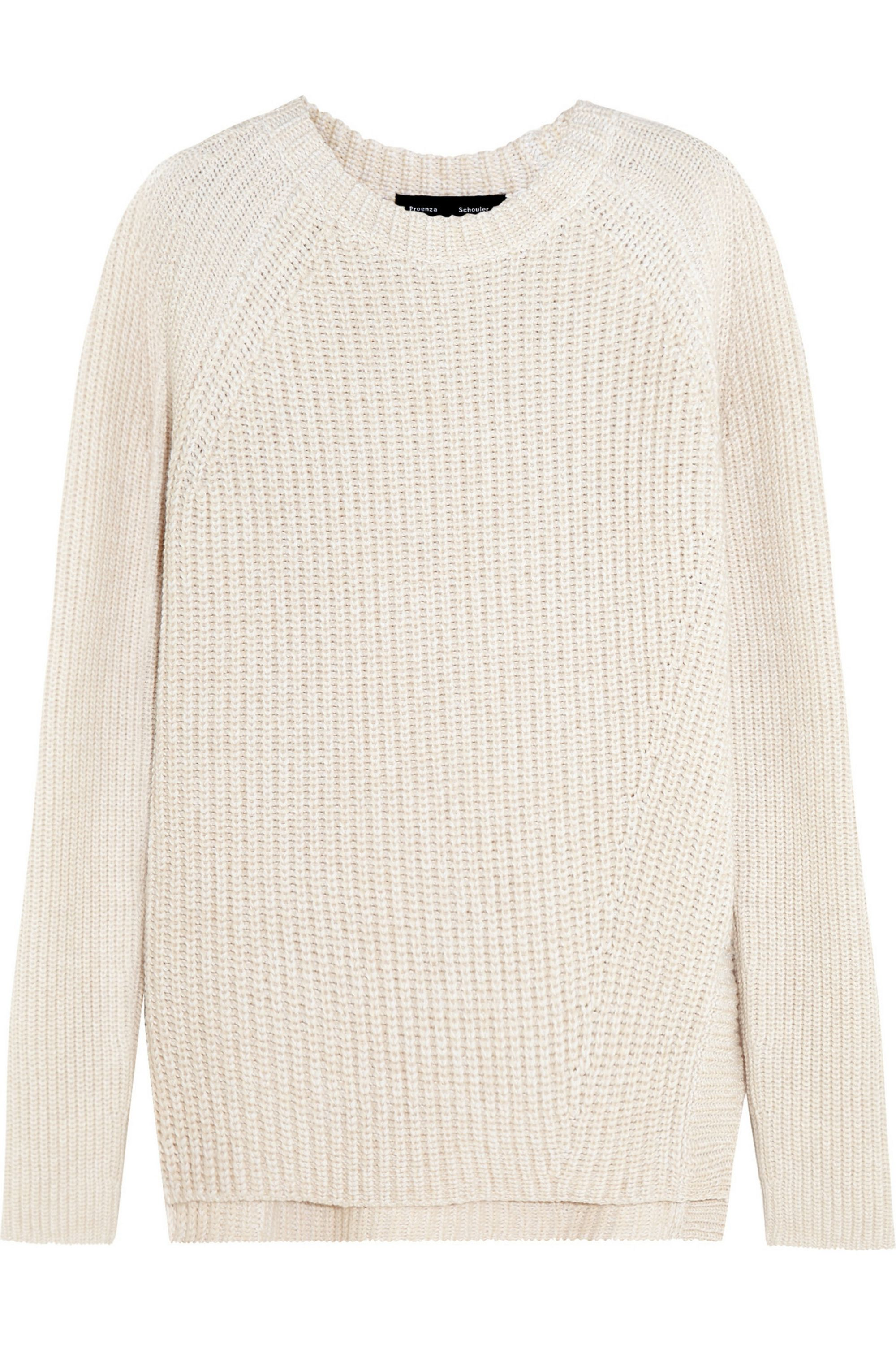 Proenza Schouler Cotton, cashmere and wool-blend sweater