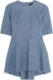 Proenza Schouler Cotton-chambray top
