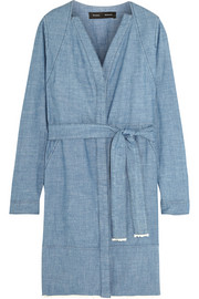Proenza Schouler Cotton-chambray dress