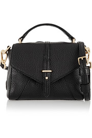 797 tiny textured-leather shoulder bag