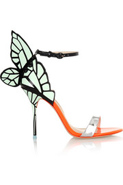 Sophia Webster Chiara neon patent-leather sandals