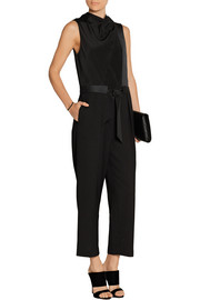 3.1 Phillip Lim Belted silk and wool jumpsuit