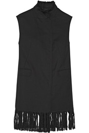 3.1 Phillip Lim Fringed wool vest
