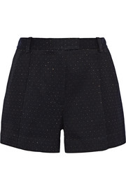 3.1 Phillip Lim Metallic woven shorts