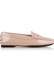 City Gommino patent-leather loafers