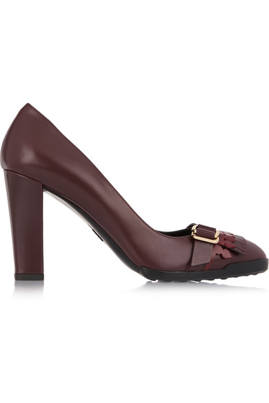 Tod's Embellished Leather Pumps cheap sale wide range of Cheapest discount visit new NunBP2Odui