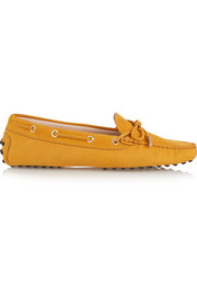 Gommino nubuck loafers