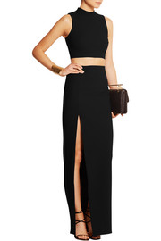 Avita stretch-jersey maxi skirt