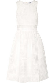 Heidi checked organza dress