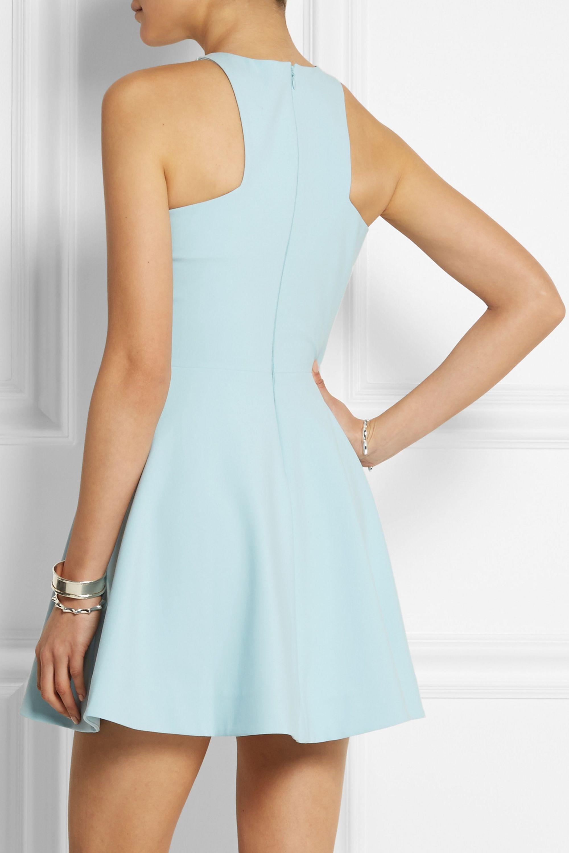 Elizabeth and James Clarissa stretch-crepe mini dress