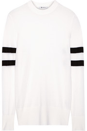 T by Alexander Wang Striped merino wool sweater