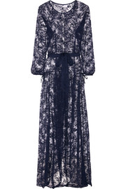 Cathie lace robe
