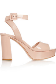 Miu Miu Patent-leather platform sandals