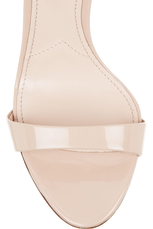 Miu Miu Swarovski crystal-embellished patent-leather sandals