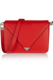 Prisma leather shoulder bag