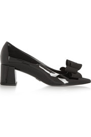 Marlow patent-leather pumps