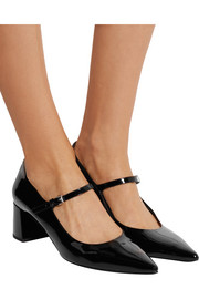 Marney patent-leather Mary Jane pumps