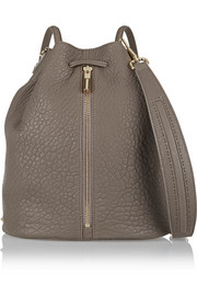 Elizabeth and James Cynnie Sling convertible pebbled-leather shoulder bag